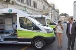 El gobierno incorporó nuevas ambulancias al sistema público de salud