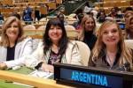 Entre Ríos participó de la delegación argentina en la ONU Mujeres