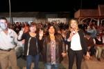 MULTITUDINARIO ACTO: Sandra Fontana promete cuidar y valorar el trabajo de los empleados municipales