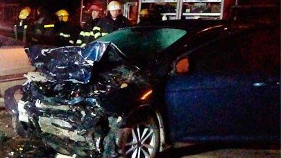 Madrugada trágica: Un hombre falleció tras colisionar dos vehículos frente a Crespo