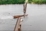 Reanudan la búsqueda de victimas por el colapso de un extenso puente en Brasil