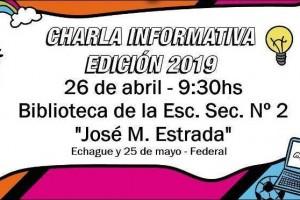 FEDERAL: Charla informativa sobre edición 2019 del Senado Juvenil