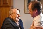 Bordet visitó al diamantino Domingo Liotta, el creador del primer corazón artificial