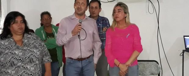 Re lanzamiento: A pesar de haberse suspendido, el gobernador envío a sus mas íntimos con Sandra Fontana