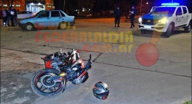 FEDERAL: Funcionarios policiales involucrados en un accidente vial