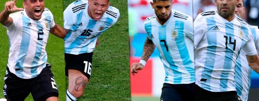 De titulares en el Mundial a borrados en la Copa América: los cambios de Sampaoli a Scaloni