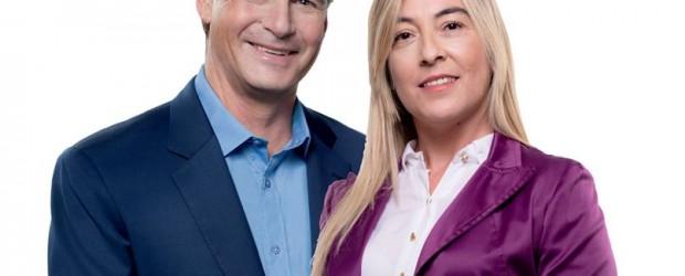 ESTE MARTES: Gustavo Bordet llega a Sauce de Luna para acompañar a Sandra Fontana