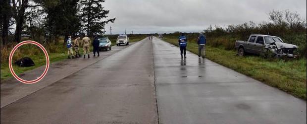 DPTO. FEDERAL: Incidente vial sobre la ruta nacional 127