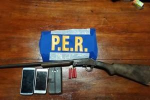SAUCE DE LUNA: Logran desarmar a un hombre que amenazaba con matar a sus dos hijos