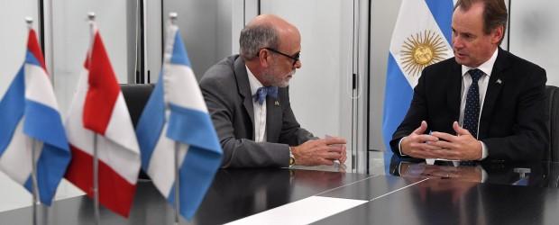 """Bordet destacó """"la relación comercial, institucional y de cooperación"""" de Entre Ríos con Canadá"""