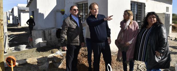Bordet fortalece la política de viviendas con recursos íntegramente provinciales
