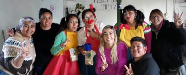 DÍA DEL NIÑO: La JP del Frente de todos celebró el día del niño abierto a la comunidad en general