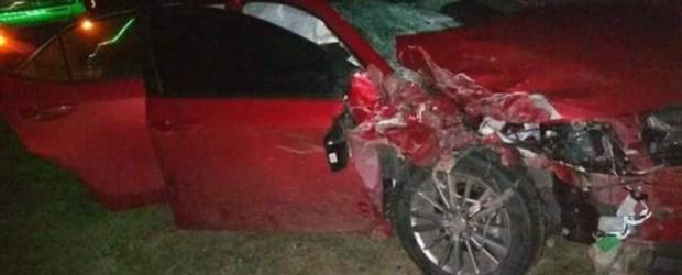 Dos reconocidos médicos de Bovril protagonizaron un accidente en la ruta 127