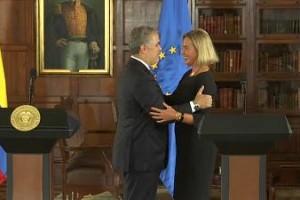 COLOMBIA: Espaldarazo de la Unión Europea a Colombia