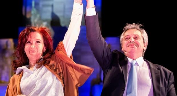 Cristina Kirchner y Alberto Fernández encabezan el acto por el Día de la Lealtad en La Pampa
