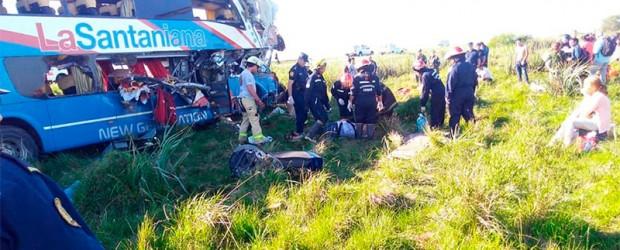 Tragedia vial: Murió otro de los pasajeros y suman cinco los fallecidos