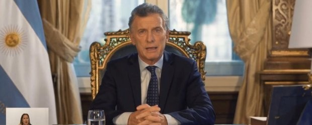 Mauricio Macri se despidió del Gobierno con una cadena nacional y realizó un insólito balance de gestión