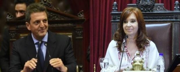 Sergio Massa y Cristina Kirchner congelaron por seis meses las dietas de los Senadores y Diputados