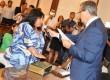 Nancy Miranda juró para su segundo mandato como Senadora Provincial por Federal