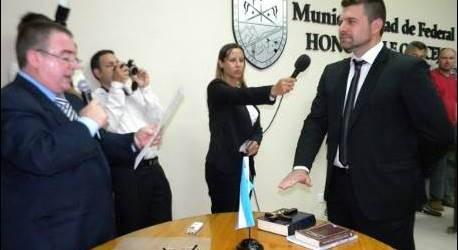 Este martes jura Chapino en el inicio de un nuevo mandato al frente del municipio de Federal