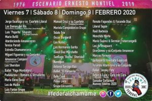 Cartelera: 45º edición del Festival Nacional del Chamamé del norte entrerriano