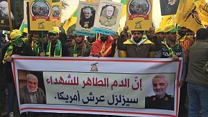 IRAK: Los chiíes de Bagdad se vuelcan en el funeral del general Soleimani
