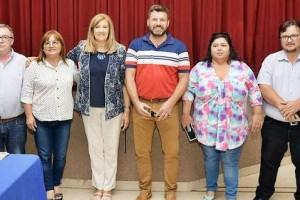 Federal: La Ministra de Gobierno y Justicia Rosario Romero estuvo en la ciudad