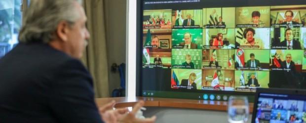 Alberto Fernández participa este jueves de la cumbre virtual del Mercosur