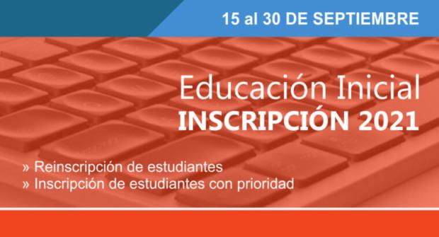 Educación: Inscripción abierta a nivel Inicial 2021