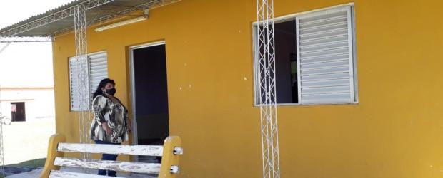 CIMARRÓN: La Senadora Miranda visitó el pasado jueves las obras en el centro de Salud
