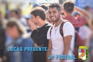 La JP de Federal expresó su profundo dolor por la muerte de Lucas Romero