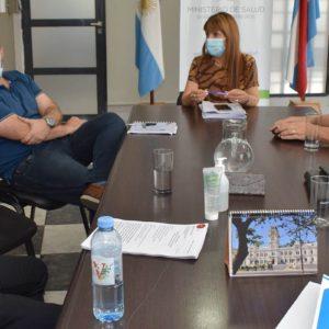 Salud se reunió con directivos de la Policía de Entre Ríos para abordar la vacunación Covid-19